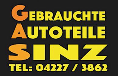Gebrauchte Autoteile SINZ